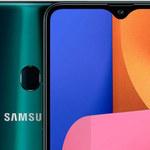 Samsung Galaxy A20s - oficjalne informacje