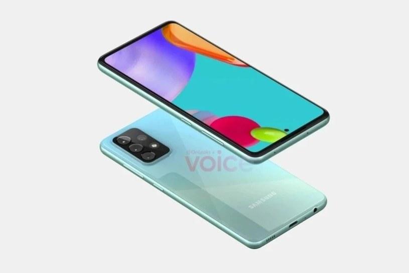 Samsung Galaxy A52 / fot. OnLeaks /materiał zewnętrzny