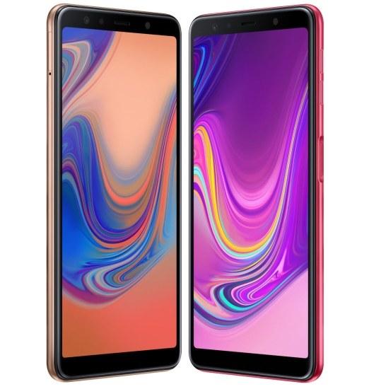 Samsung Galaxy A7 (2018) /materiały prasowe