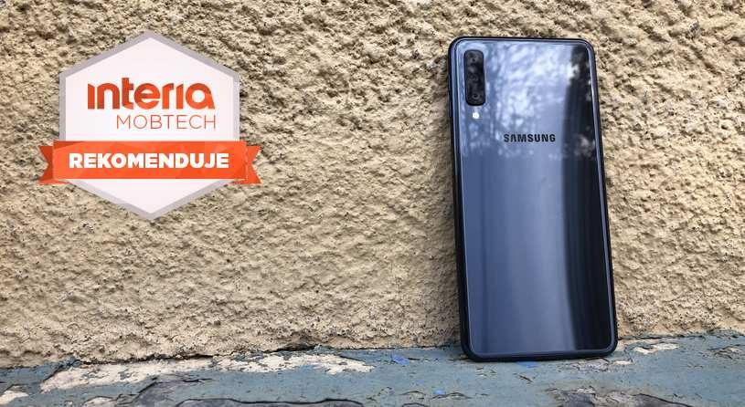 Samsung Galaxy A7 otrzymuje REKOMENDACJĘ serwisu Mobtech Interia /INTERIA.PL