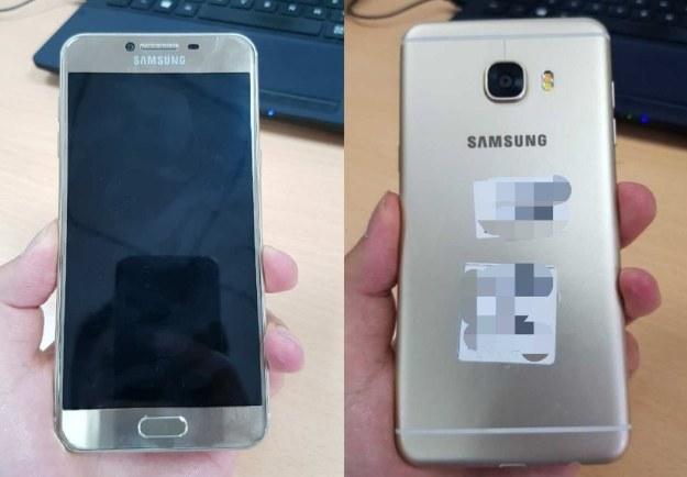 Samsung Galaxy C5 /materiały prasowe