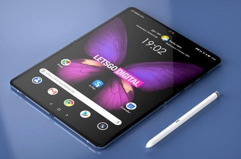 Samsung Galaxy Fold 2 / fot. Let'sGoDigital /materiał zewnętrzny