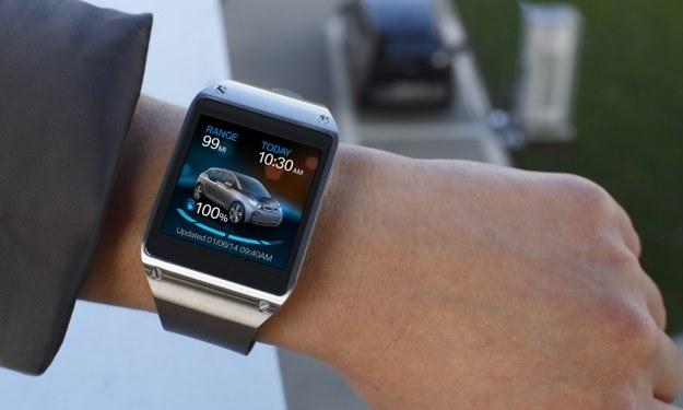 Samsung Galaxy Gear i BMW /materiały prasowe
