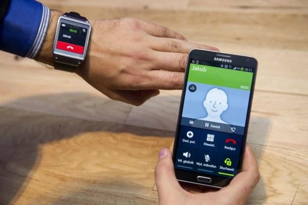 Samsung Galaxy Gear /materiały prasowe