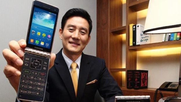Samsung Galaxy Golden.    Fot. Samsung /materiały prasowe