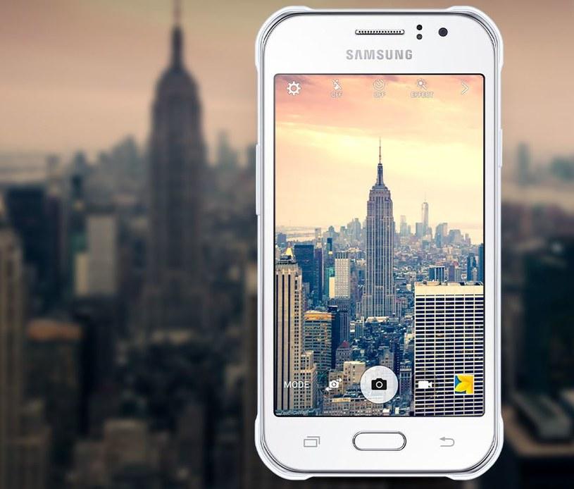 Samsung Galaxy J1 Ace Neo to jeden z najmniejszych smartfonów na rynku /materiały prasowe