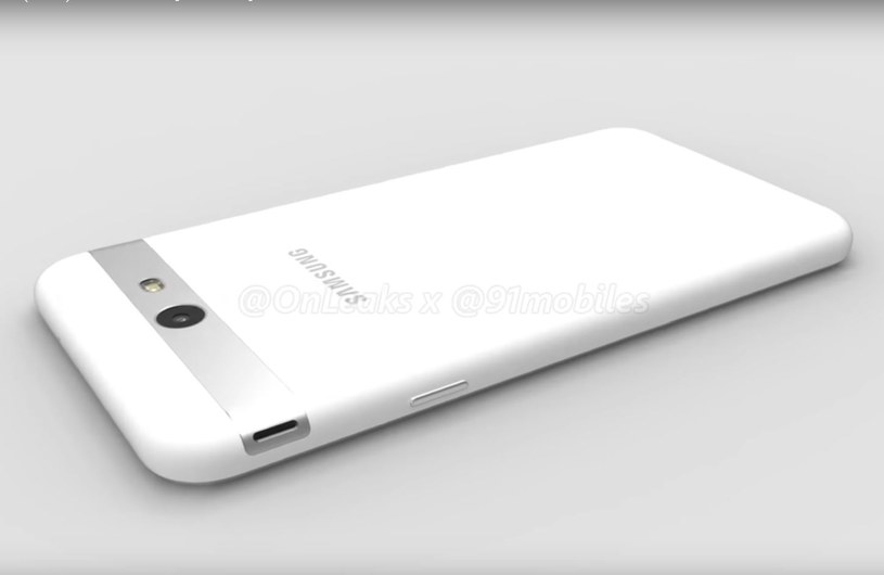 Samsung Galaxy J7 2017 wygląda inaczej niż pozostał smartfony z linii J /OnLeaks /Internet