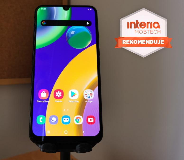Samsung Galaxy M21 otrzymuje REKOMENDACJĘ serwisu Mobtech Interia /INTERIA.PL