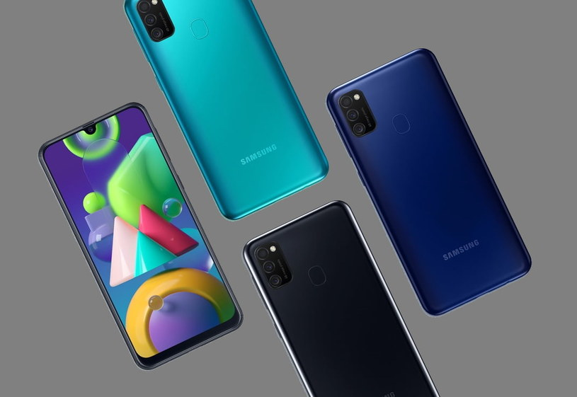 Samsung Galaxy M21 /materiały prasowe