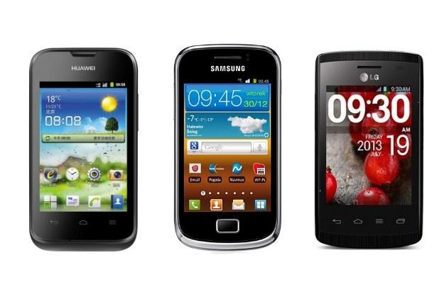 Samsung Galaxy Mini 2 S6500, Huawei Y210 Ascend oraz LG E410 Swift L1 II - za 299 zł w Komputronik /materiały prasowe