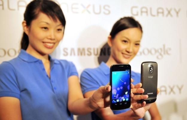 Samsung Galaxy Nexus - jak się okazuje, nie jest pozbawiony wad /AFP