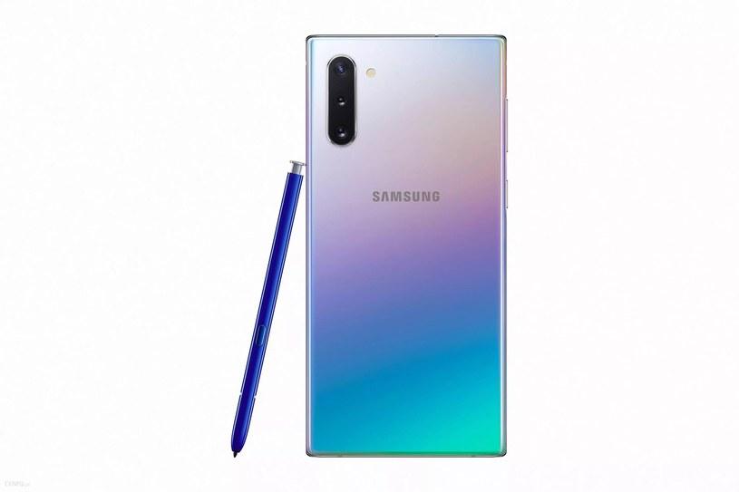 Samsung Galaxy Note 10 /materiały prasowe