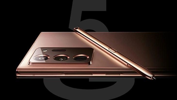 Samsung Galaxy Note 20 Ultra - render / fot. Evan Blass /materiał zewnętrzny