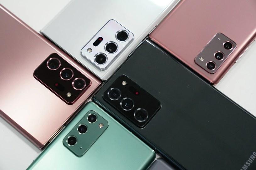 Samsung Galaxy Note 20 z aplikacją Twój telefon /materiały prasowe