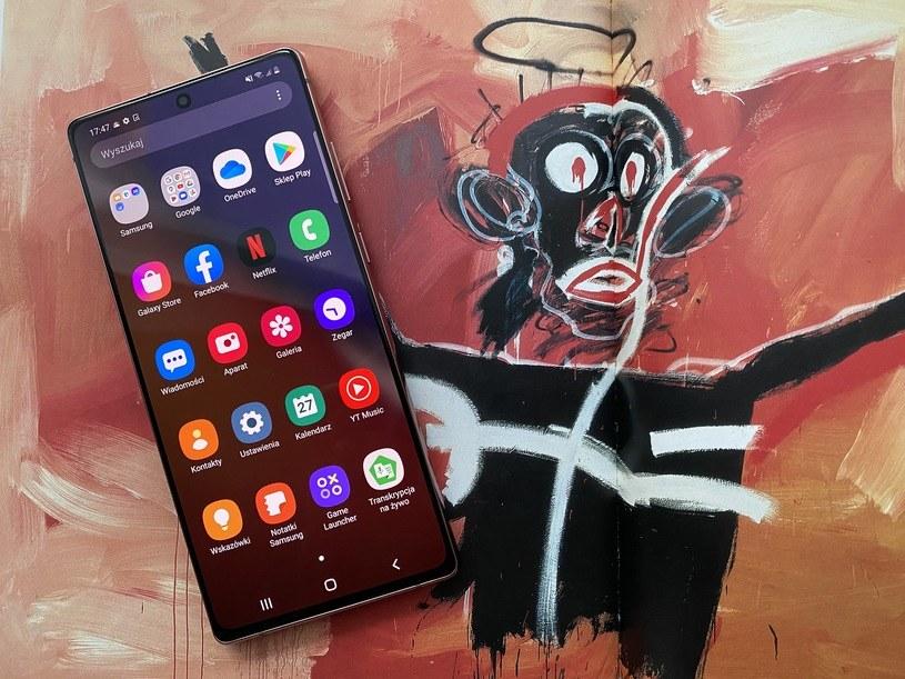 Samsung Galaxy Note 20 /materiały prasowe