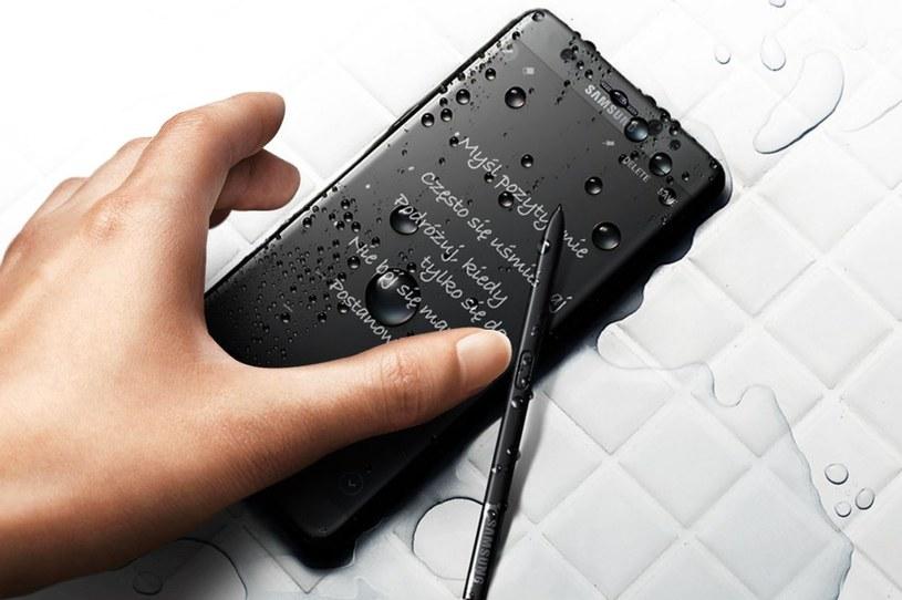 Samsung Galaxy Note 7 posiada szkło Gorilla Glass 5 z obu stron /materiały prasowe