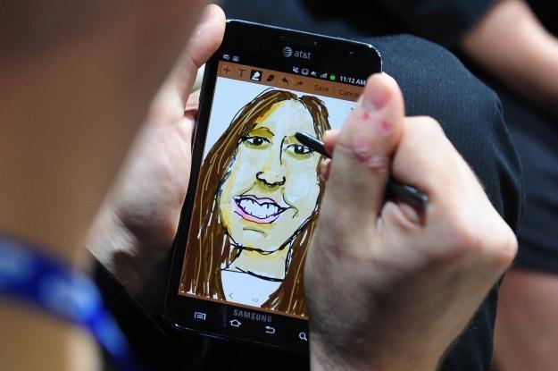 Samsung Galaxy Note - do rysowania i do dzwonienia /AFP