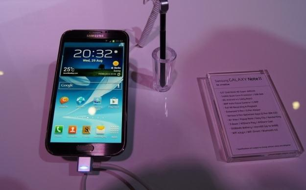 Samsung Galaxy Note II doczekał się aktualizacji /AFP