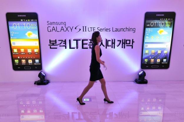 Samsung Galaxy S II okazał się gigantycznym sukcesem dla Samsunga /AFP