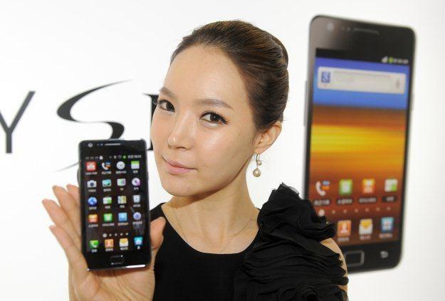 Samsung Galaxy S II - topowy smarfon w ofercie Samsunga /AFP