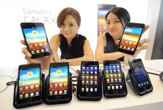 Samsung Galaxy S II /AFP
