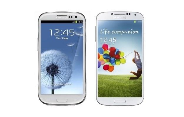 Samsung Galaxy S III i Galaxy S IV /materiały prasowe