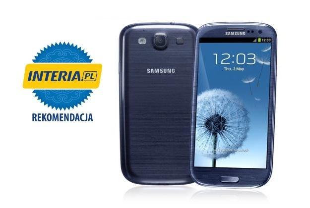 Samsung Galaxy S III otrzymał od naszej redakcji zasłużoną rekomendację /materiały prasowe