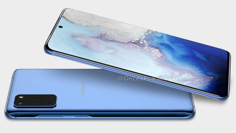 Samsung Galaxy S11e / fot. OnLeaks /materiał zewnętrzny