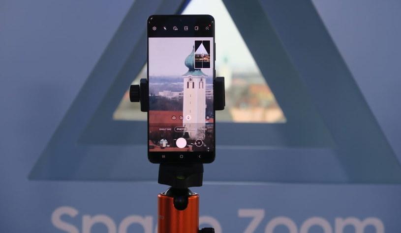 """Samsung Galaxy S20 Ultra i jego """"Kosmiczny Zoom"""" /INTERIA.PL"""