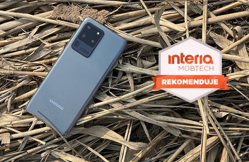 Samsung Galaxy S20 Ultra otrzymuje REKOMENDACJĘ serwisu Interia Mobtech /INTERIA.PL