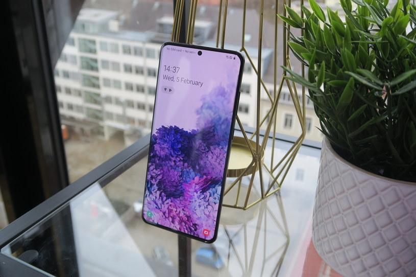 Samsung Galaxy S20 Ultra /INTERIA.PL