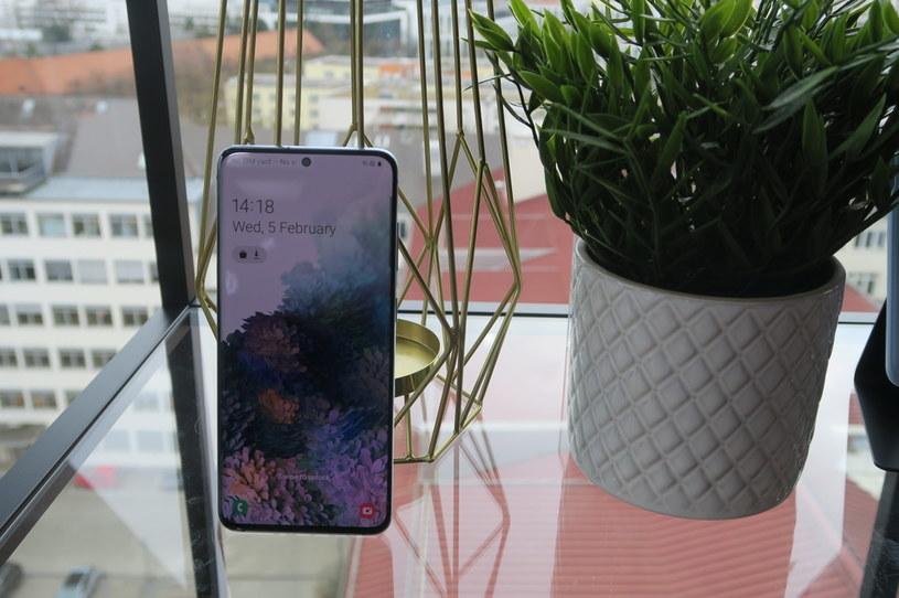 Samsung Galaxy S20 /INTERIA.PL