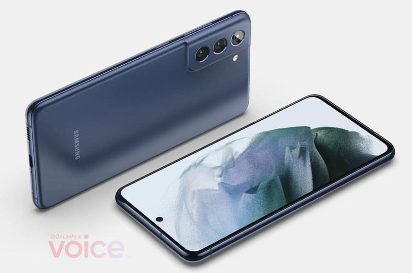 Samsung Galaxy S21 FE render / fot. Voice.com /materiał zewnętrzny