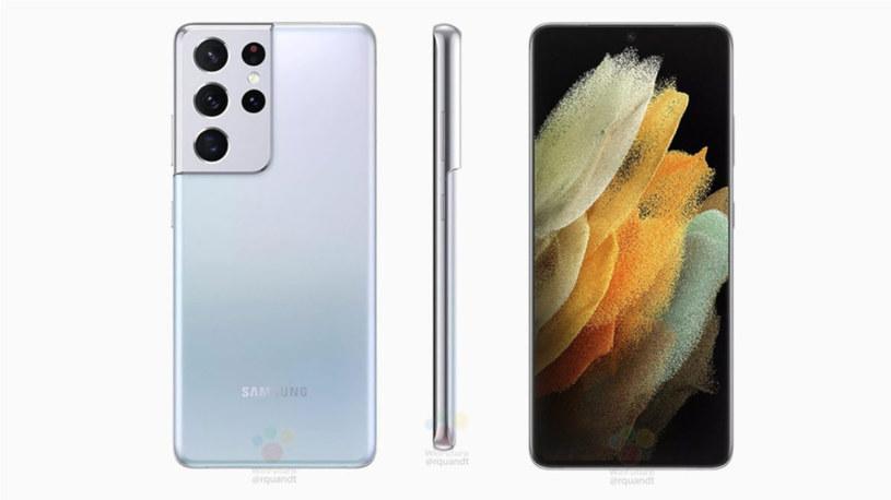 Samsung Galaxy S21 render / fot. Roland Quandt /materiał zewnętrzny