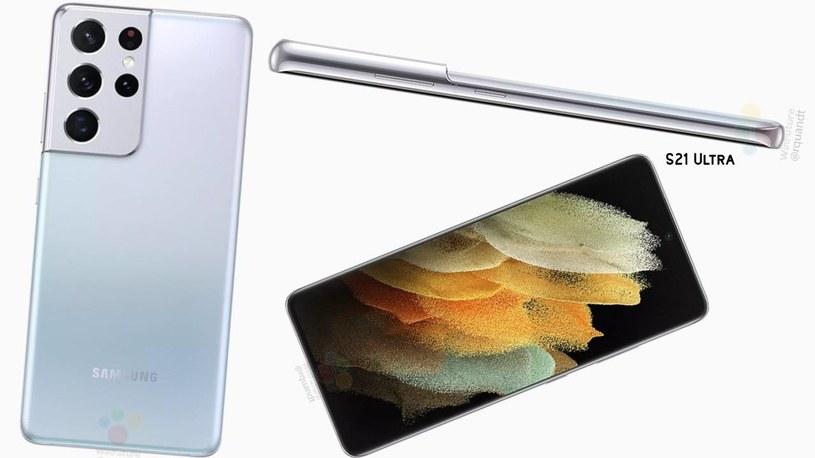 Samsung Galaxy S21 Ultra - render / fot. Roland Quandt /materiał zewnętrzny