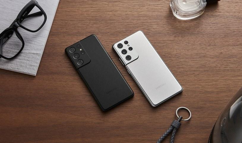 Samsung Galaxy S21 Ultra /materiały prasowe