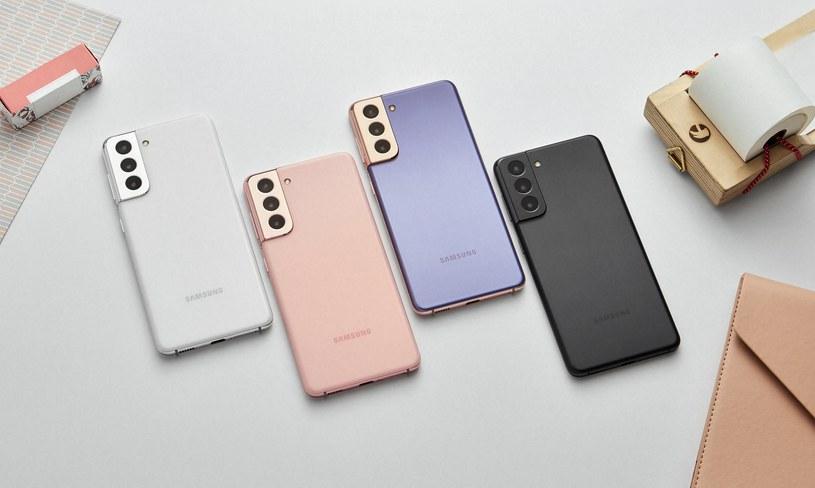 Samsung Galaxy S21 /materiały prasowe