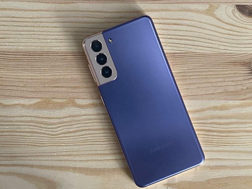 Samsung Galaxy S21 /INTERIA.PL