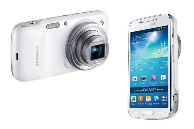 Samsung Galaxy S4 Zoom - z jednej strony (dosłownie) aparat, z drugiej - smartfon /materiały prasowe