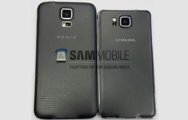 Samsung Galaxy S5 i Galaxy S5 Alpha.  Fot. SamMobile /materiały prasowe