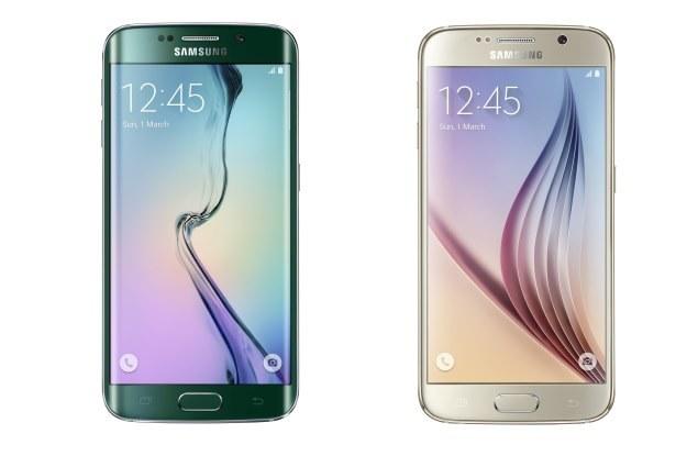 Samsung Galaxy S6 Edge i Galaxy S6 /materiały prasowe