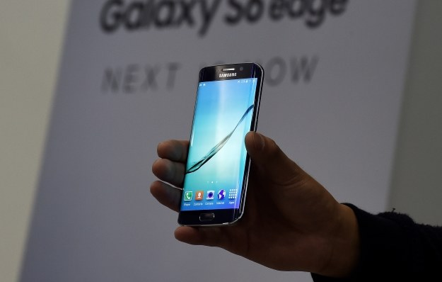 Samsung Galaxy S6 Edge /AFP