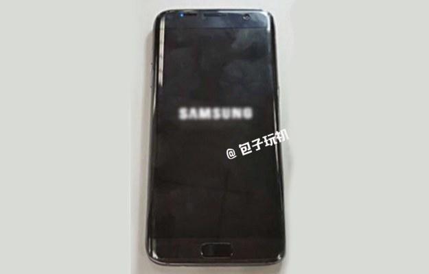 Samsung Galaxy S7 Edge. Fot. Weibo /materiały prasowe