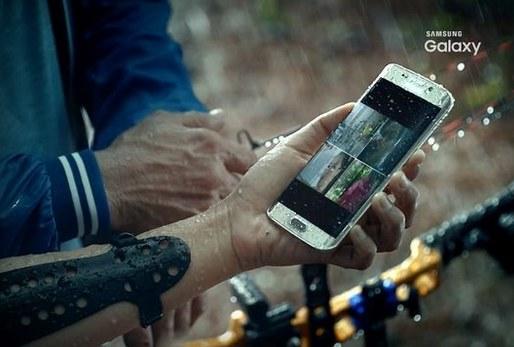 Samsung Galaxy S7 -  tak przynajmniej wynika z fragmentów (zrzutów ekranu) z filmu, który wyciekł do sieci. Ta fotografia wskazuje na to, że sprzęt będzie wodoodporny /materiały prasowe
