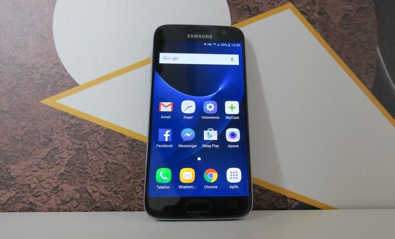 Samsung Galaxy S7 z aktualizacją oprogramowania /INTERIA.PL
