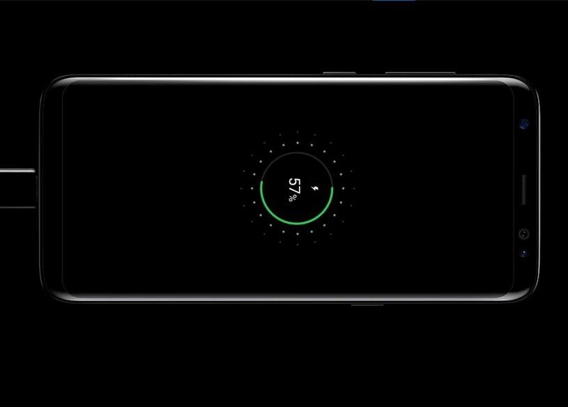 Samsung Galaxy S8 ładuje się do pełna w około 80 minut /materiały prasowe