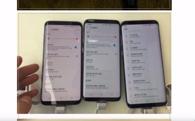 Samsung Galaxy S8 może mieć wadę fabryczną? /YouTube /Internet