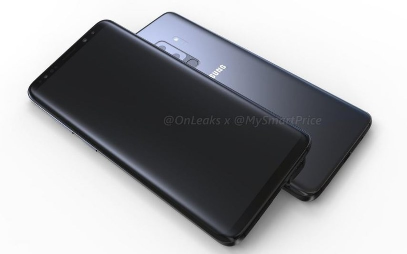 Samsung Galaxy S9 będzie podobny do poprzednika /OnLeaks /Internet