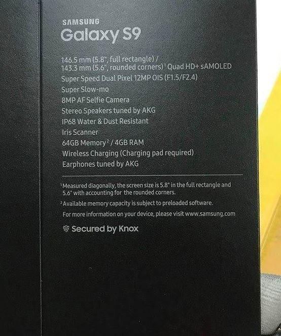 Samsung Galaxy S9 będzie posiadał słuchawki AKG w zestawie /Reddit /Internet