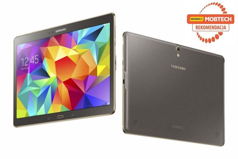 Samsung Galaxy Tab S otrzymuje rekomendację serwisu Mobtech /INTERIA.PL